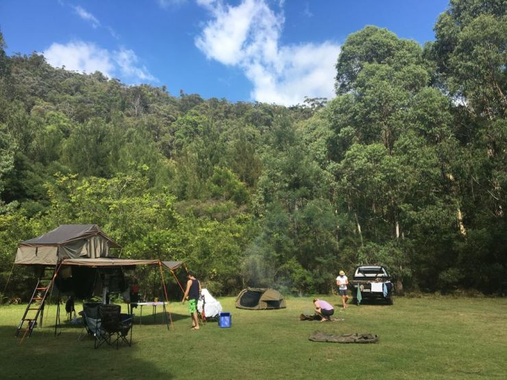 Free Camp- Bendethra, NSW