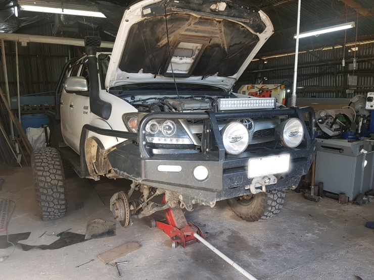 Servicing the Ute